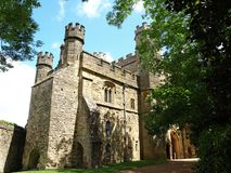 争斗城堡 免版税库存图片