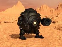 争斗机器人 免版税图库摄影