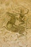 争斗神印度马骑术 免版税图库摄影