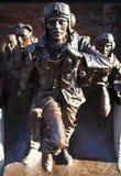 争斗英国伦敦纪念碑 库存图片
