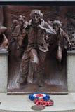争斗英国英国伦敦纪念碑 库存图片