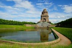 争斗莱比锡纪念碑 免版税库存图片