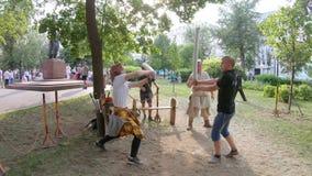 争斗训练剑 影视素材
