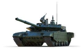 争斗主要俄国射击坦克 库存图片
