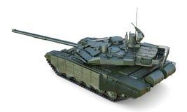 争斗主要俄国射击坦克 免版税库存照片