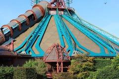 争霸超空间山在迪斯尼乐园巴黎 库存图片