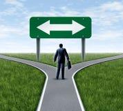 事业决策 免版税库存图片