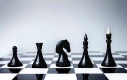 事业棋机会 库存照片