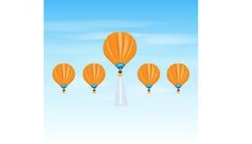 事业气球 免版税库存图片