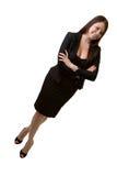 事业确信的妇女 免版税库存照片