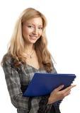 事业纵向妇女 免版税库存照片