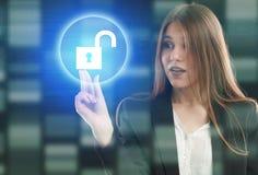 事务、技术、互联网和networ的概念 免版税库存图片