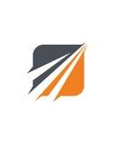 事务中介抽象业务保险摘要 免版税库存图片