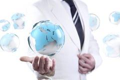 事务和互联网概念 免版税库存图片