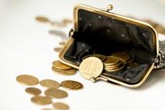 事务和攒钱概念 免版税图库摄影
