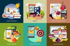 事务和营销 免版税库存照片