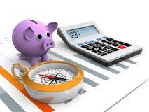 事务和财政 免版税图库摄影