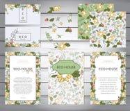 事务或其他事件被绘的花卉背景 库存照片