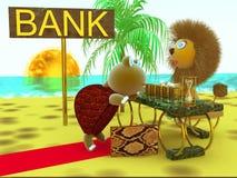 事务,银行 免版税库存照片