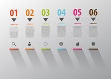 事务Infographic 对成功的台阶步 向量 库存照片