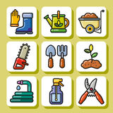 从事园艺的tools_1 库存图片