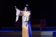 """事提醒一它的所有者这紫色簪子--江西linchuan† opera""""four梦想  免版税库存图片"""