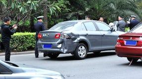 事故业务量 免版税库存图片