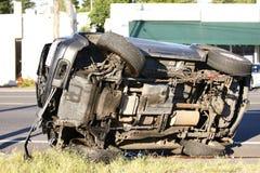 事故汽车 库存照片