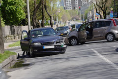 事故汽车 免版税库存图片