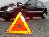 事故路 免版税库存照片