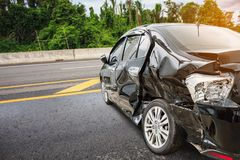 事故车祸医生人抢救路未认出的统一 图库摄影