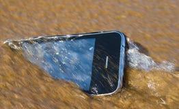 事故smartphone 库存图片