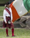 苏格兰男用短裙 库存照片