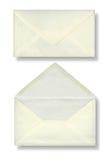 二个信包特写镜头。 免版税库存图片