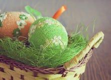 二个复活节彩蛋 图库摄影