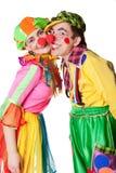 二个小丑 图库摄影