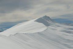 二个略图山脉 库存图片
