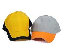 二个盖帽 免版税库存照片