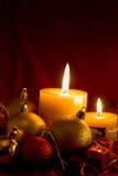 二个蜡烛 图库摄影