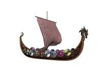 二北欧海盗 向量例证