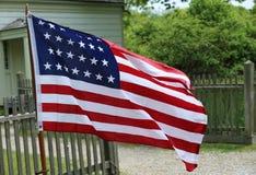 二十六个星U S 标志 免版税库存图片