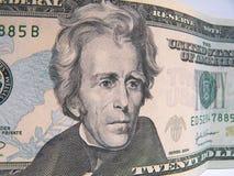 二十美金 免版税库存照片
