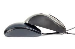 二台计算机鼠标 库存照片