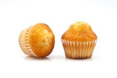 二块杯形蛋糕 免版税库存图片