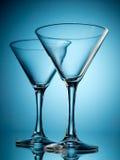 二块玻璃 免版税库存图片