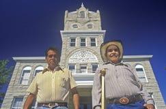 二墨裔美国人的先生们 库存图片
