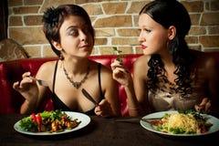 二女孩朋友 免版税库存图片