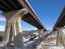 二座桥梁 免版税库存图片