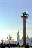 二意大利marco广场圣・威尼斯 图库摄影