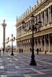 二意大利marco广场圣・威尼斯 免版税库存图片
